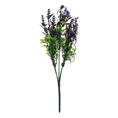 Vitale İnce Yaprak Kır Çiçeği Demeti Lila Renkli